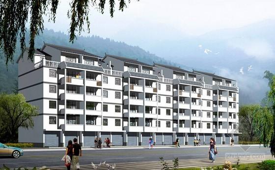 [山东]2014年公寓楼建筑安装工程预算书(含全套图纸)