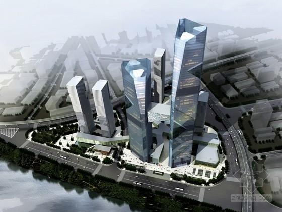 [湖北]超高层现代风格城市综合体及单体设计方案文本
