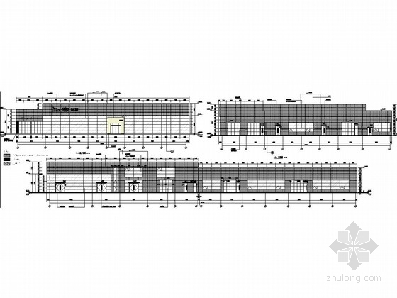 路虎4S店钢结构施工图(含建筑图)