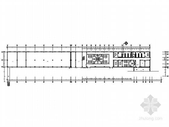 [白山]市中级核心机关高档现代办公楼装修施工图