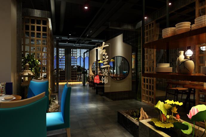 《素弥素食》-资阳酒楼设计装修,资阳酒楼设计公司-素弥素食餐厅3.jpg