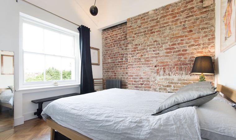 伦敦阁楼公寓:既复古又清新_6