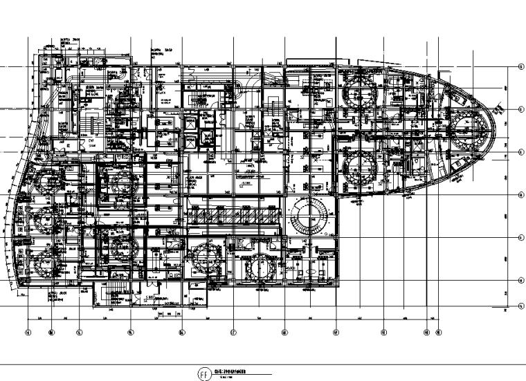 苏州五星级假日酒店中餐厅室内设计施工图