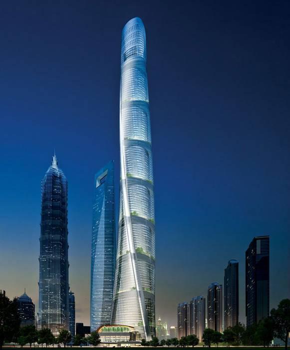 中国最高的10大建筑,都被谁承包了?
