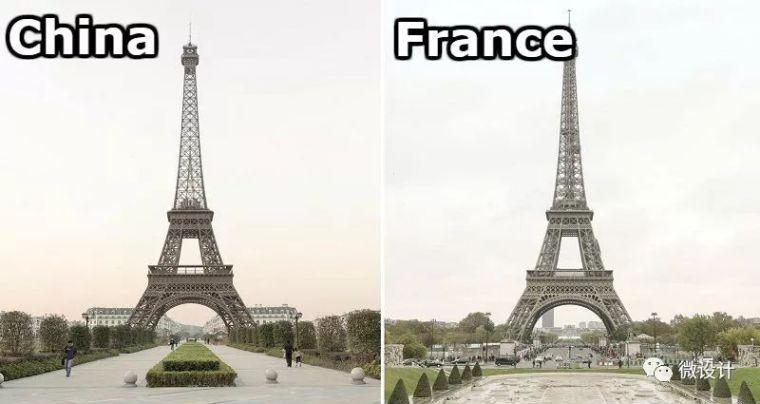 中国山寨了整个巴黎......