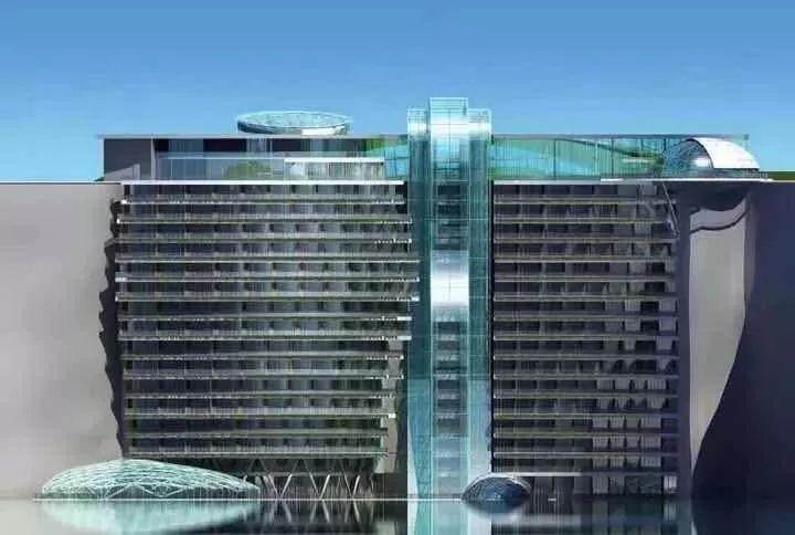 投入20亿的工程奇迹深坑酒店终于开业了,内部设计大曝光!_48