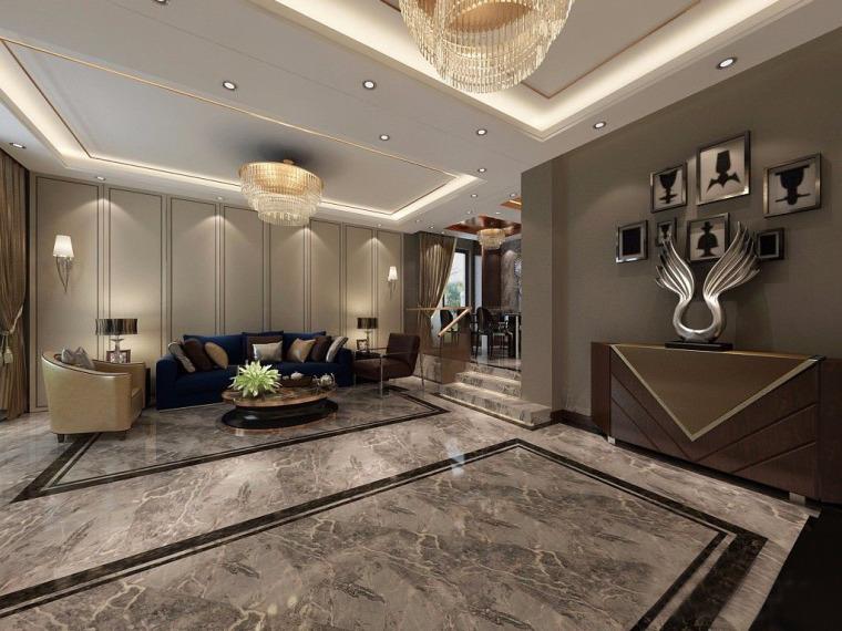 现代奢华风格样板房