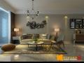 简约风格的公寓室内设计效果图