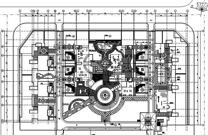 庭院景观设计施工图