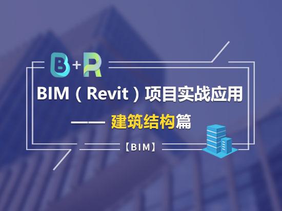 BIM(Revit)项目实战应用——建筑结构篇