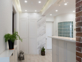 [久栖设计]北京五福玲珑居丨小户型现代简约风格设计丨灰色纹路