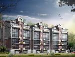 汇景台别墅建筑方案设计施工图(包含CAD)