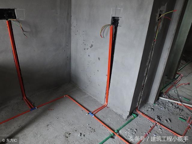 「电气施工」电气管道施工图片