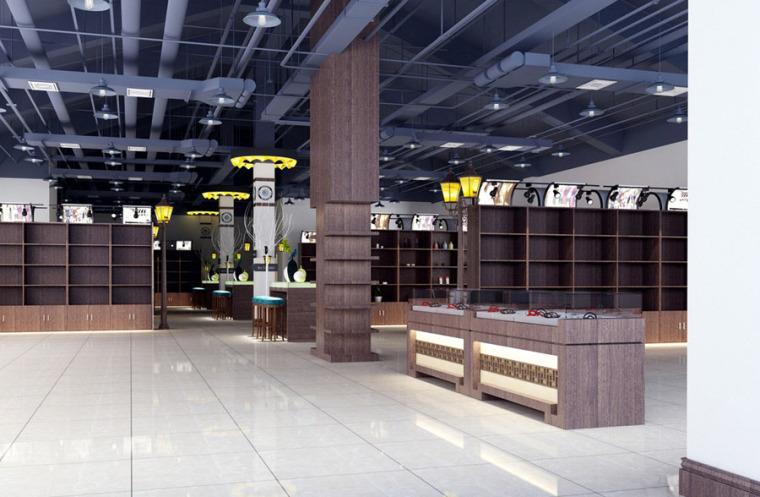 (原创)书店 书吧 图书馆设计案例效果图