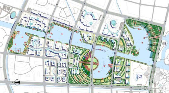 [上海]某河道滨水区域景观设计方案