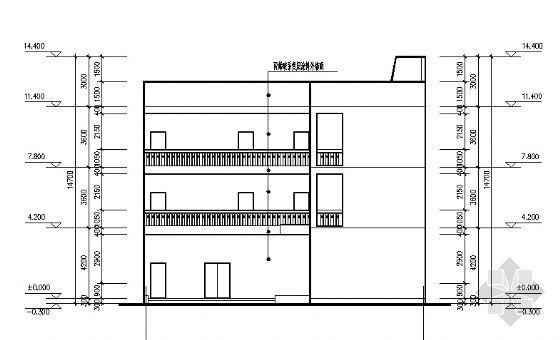 某邮电支局建筑、水、电施工图-2
