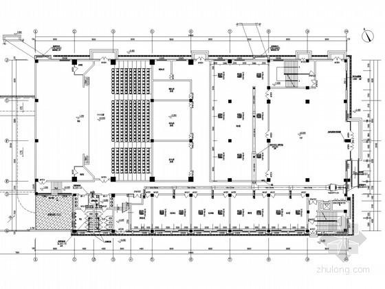 [江苏]多层教育建筑空调通风系统设计施工图(采暖设计)