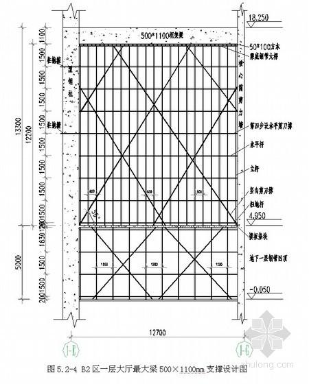 [广西]办公楼高支模施工方案(最高13.3m)