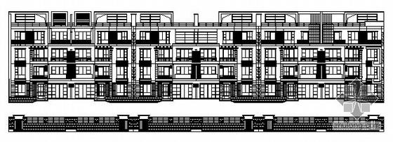 某多层情景洋房建筑施工图(10#11#12#楼)