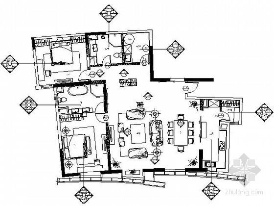 [青岛]现代简约风格家居样板房装修图
