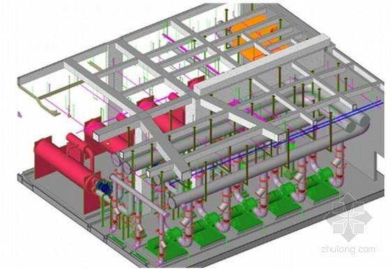 [成都]大型综合体项目BIM应用资料与总结(机电BIM模型)