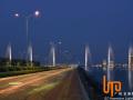 绵阳城市亮化工程 中秋佳节醉是灯光璀璨