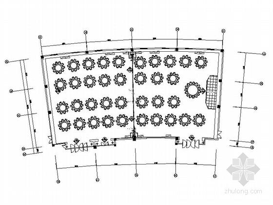 [无锡]高档四星级酒店宴会厅装修图