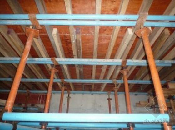 楼板模板木枋间距≤300mm