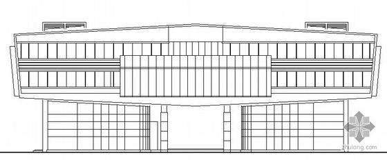 [河北省保定市]某商业会所建筑结构水暖电气建筑套图