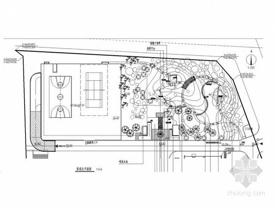 [安徽]某市市政办公楼景观施工全套图