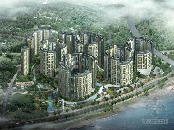 [重庆]现代风格高层特色住宅区规划设计方案文本