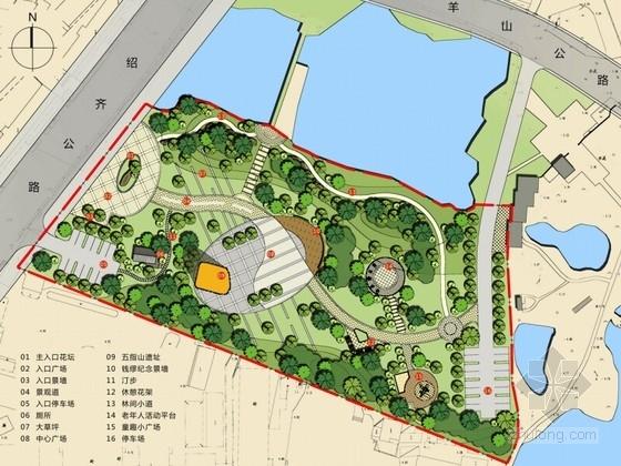 [浙江]城镇中心区域公园景观方案设计