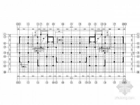 11层框架剪力墙安置小区结构施工图(桩基、地下车库)