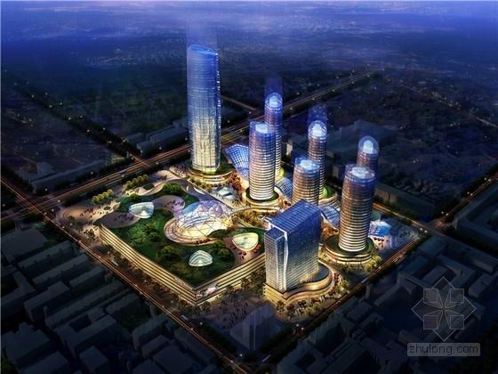 [河北]现代风格城市商业综合体设计方案文本