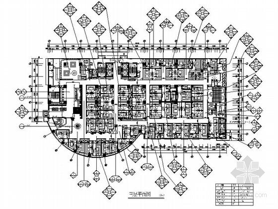 [海口]知名设计公司商业空间KTV设计施工图