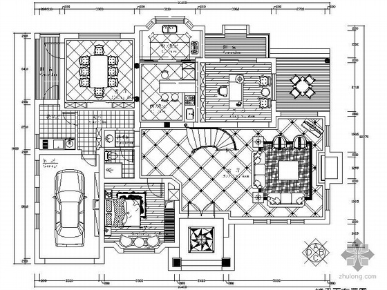 [杭州]欧式风格别墅精装图(含效果)