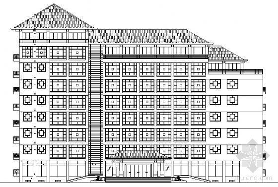 某八层机关办公大楼建筑施工图