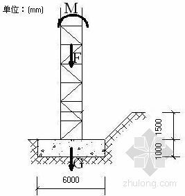 连云港某住宅楼塔吊专项施工方案(QT25)