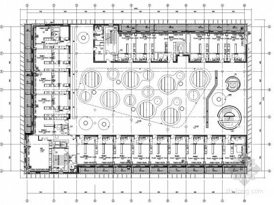 [北京]科研教育中心空调通风防排烟加压送风系统设计施工图(含机房图)