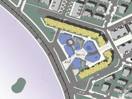 [天津]某知名设计院设计某湖别墅型住宅小区方案文本(含实景照片)
