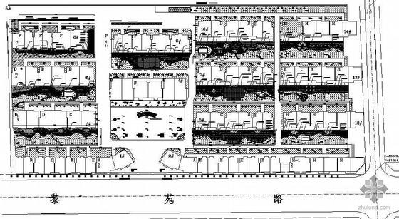 [浙江]某小区景观绿化竣工图