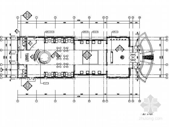[四川]某住宅小区售楼处室内装修施工图