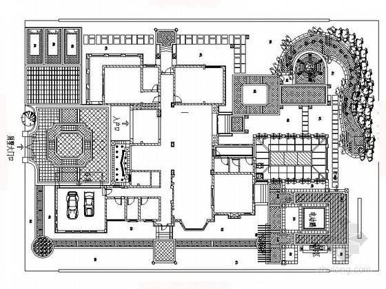 [安徽]湖畔花园景观设计施工图