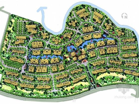[海南]新东南亚风情居住区景观规划设计方案(知名设计单位)
