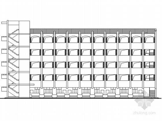 某大学五层教学楼建筑扩初图