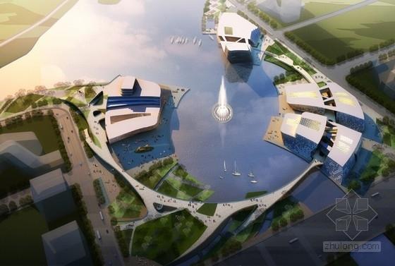 [杭州]大型文化商务核心区规划设计方案文本