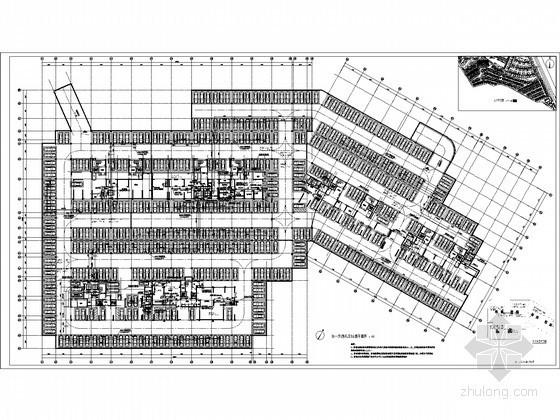 [四川]某高级住宅地下室通风防排烟施工图