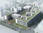 [深圳]高端现代风格中学教学楼完整方案设计文本