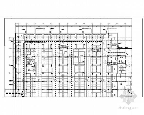 [天津]多栋高层办公综合楼智能化电气施工图纸92张(2014年编制)