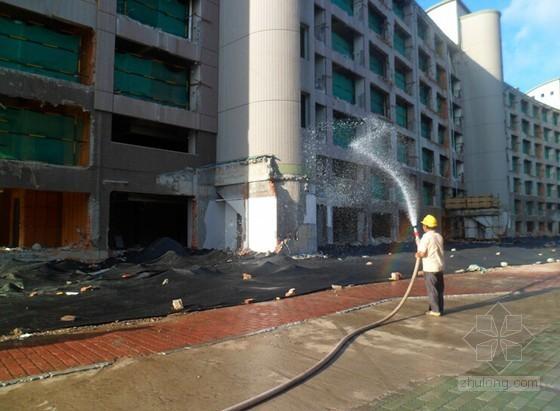 [上海]住宅小区改建项目创建绿色施工工程汇报材料